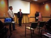 US Senate Candidates at BCRP Meeting