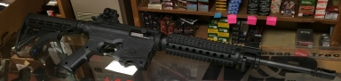 Mossberg 715 Tactical 22LR (Prize- 2014)