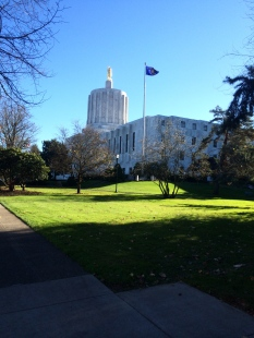 Trip to the Oregon State Capital - 2013