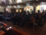 Picture from the Stage Candidate Forum