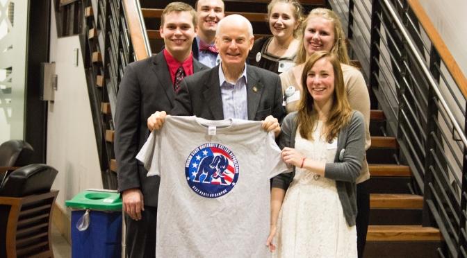 Dennis Richardson campaign event at OSU