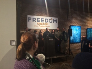 Freedom Oregon Kick Off