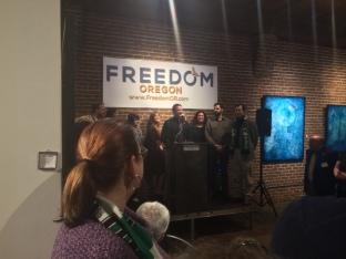 Freedom Oregon Kick Off