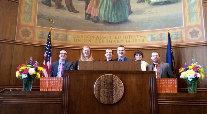 College Republicans Visit the Capitol