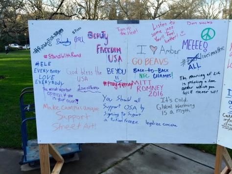 First Amendment Week 2015 Wall (1/3)