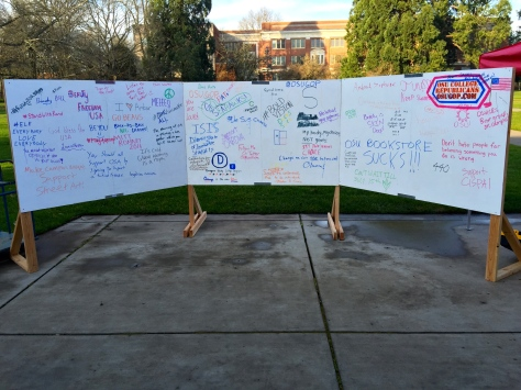 First Amendment Week Wall 2015