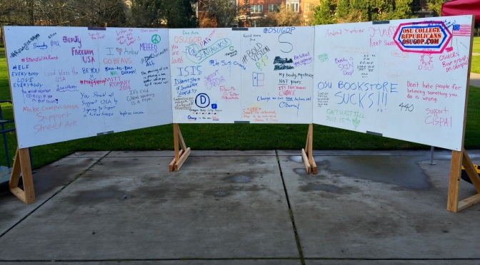 70+ things only College Students would write on a Free Speech Wall