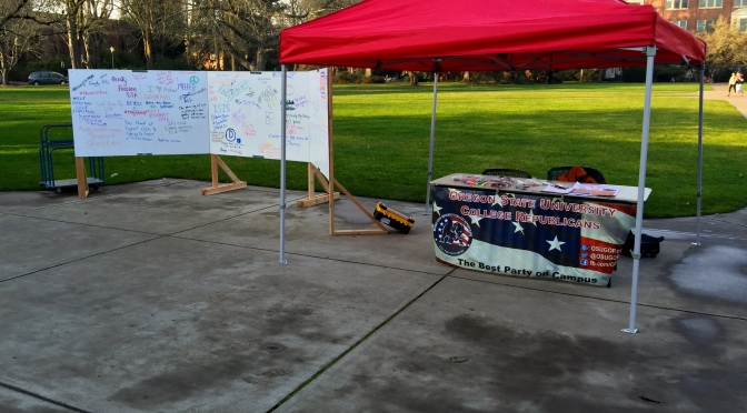 College Republicans host 2015 First Amendment week